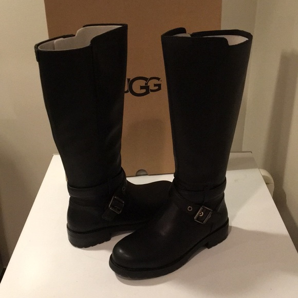 8307ba04da8 New Ugg black Harington Equestrian tall boot ❤️☃️ NWT